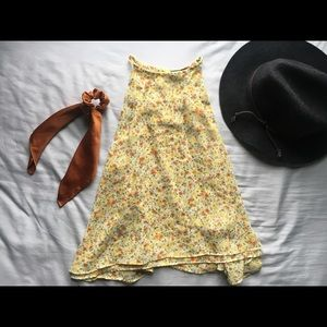 Floral tank top. Zara Basics.